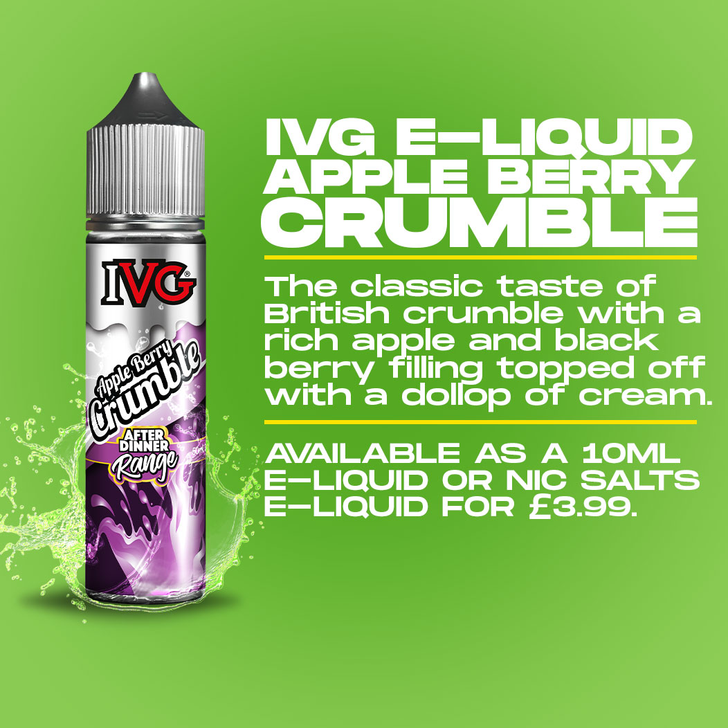 IVG - Appleberry Crumble Review