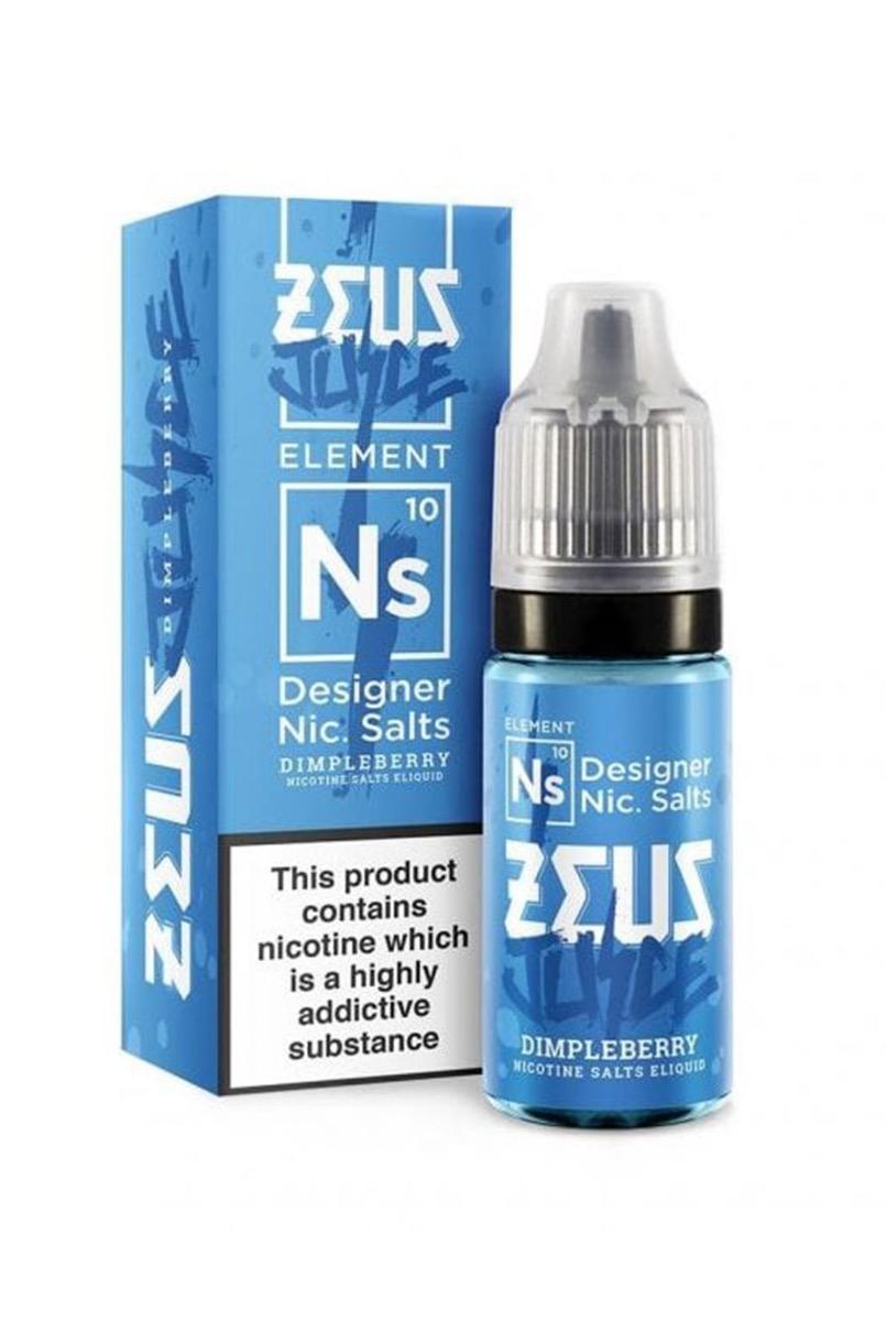 Dimpleberry   10ml Zeus Juice Nic Salts E-Liquid
