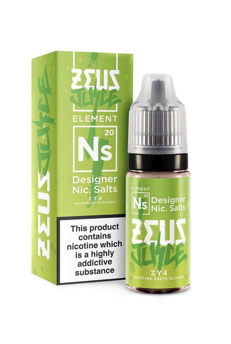 ZY4   10ml Zeus Juice Nic Salts E-Liquid
