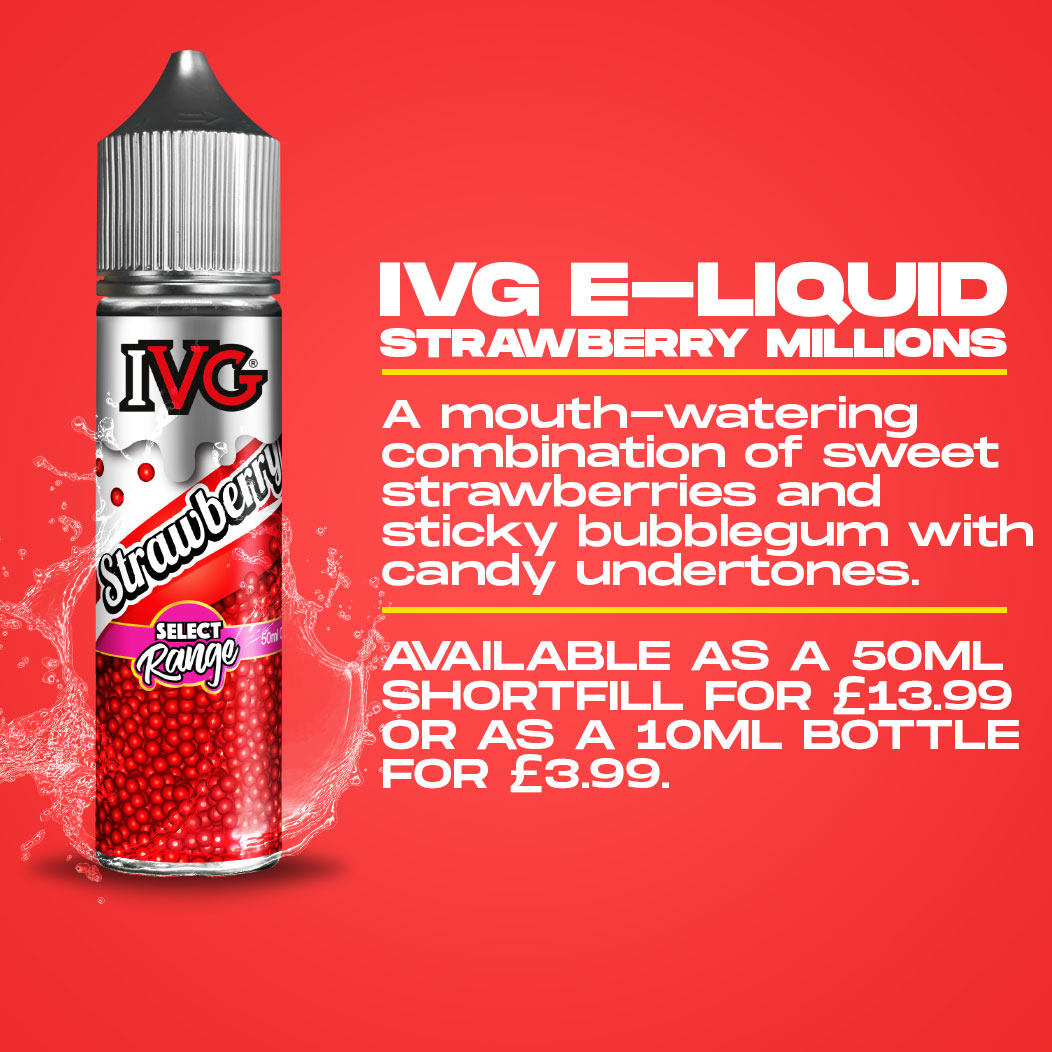 IVG Strawberry Millions - E-Liquid Review